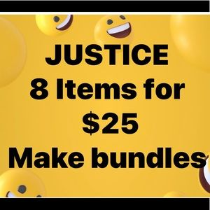 ALL JUSTICE ON SALE
